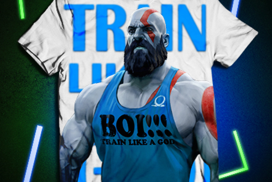 Train Like a GOD! Ice color